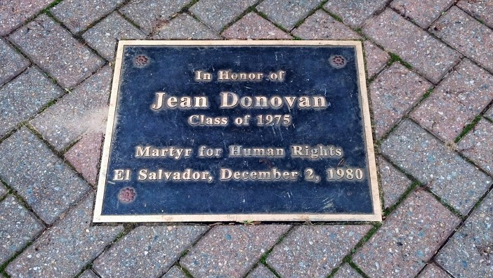 Jean Donovan Plaque UMW