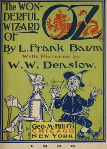 Wizard of Oz cover 1900