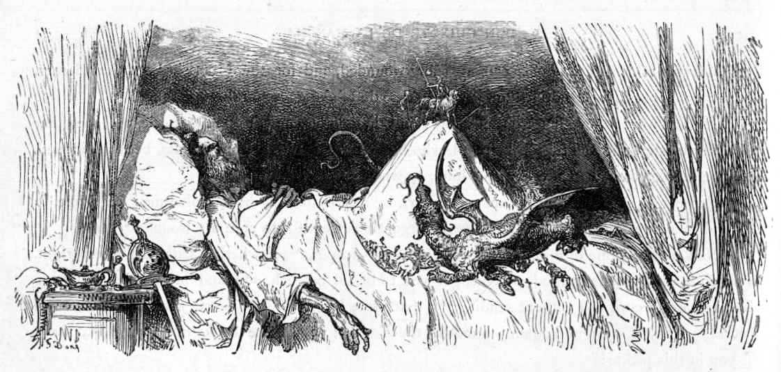 Illustration by Gustave Doré in John Ormsby translation of Don Quixote, republished by University of Adelaide
